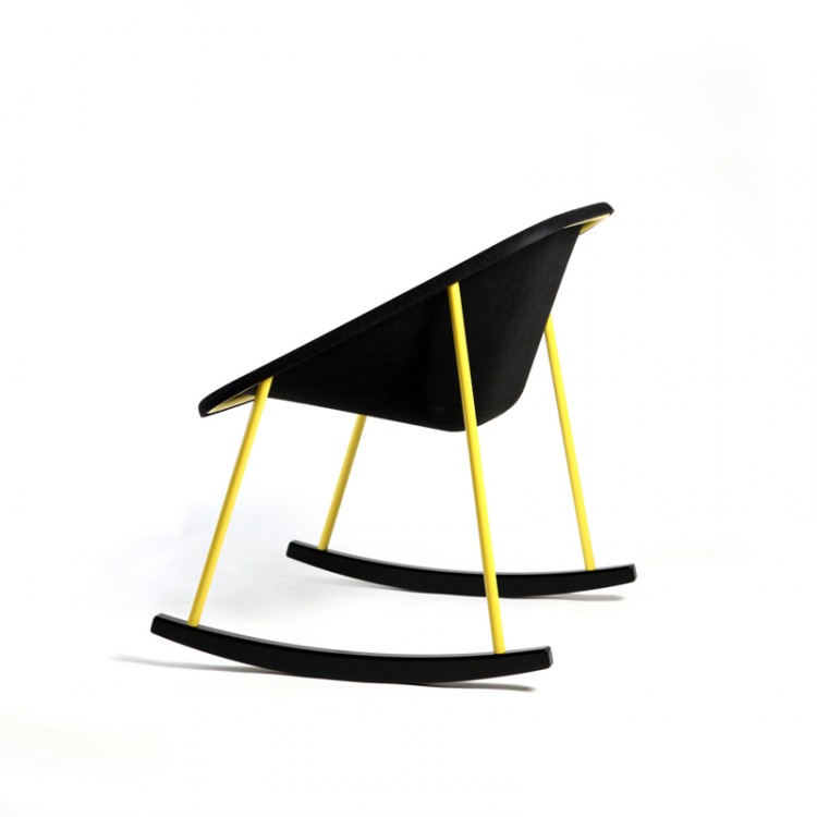 Rocking chair design et cologique kola - Design ecologique ...