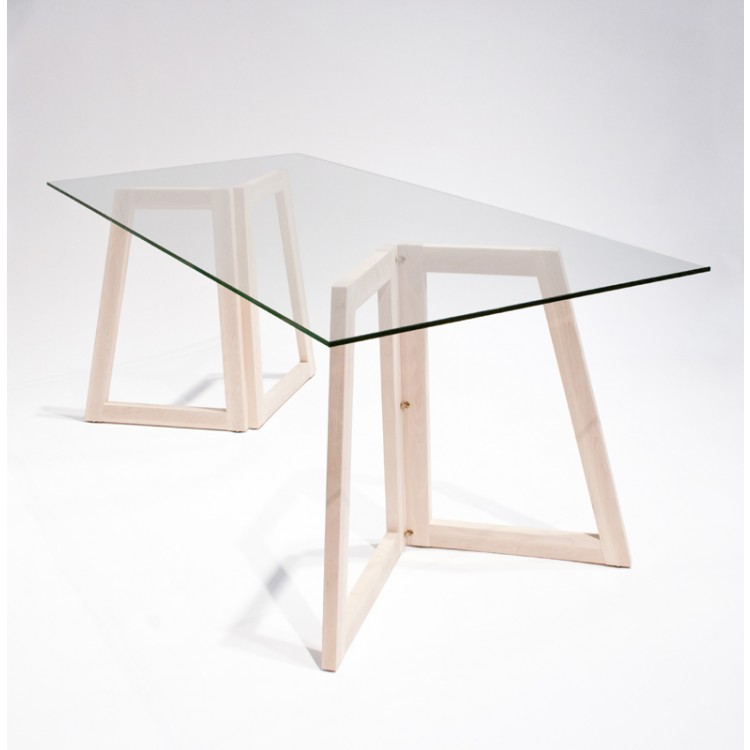 Pieds de table esth tique et pratique twin for Table pied en x